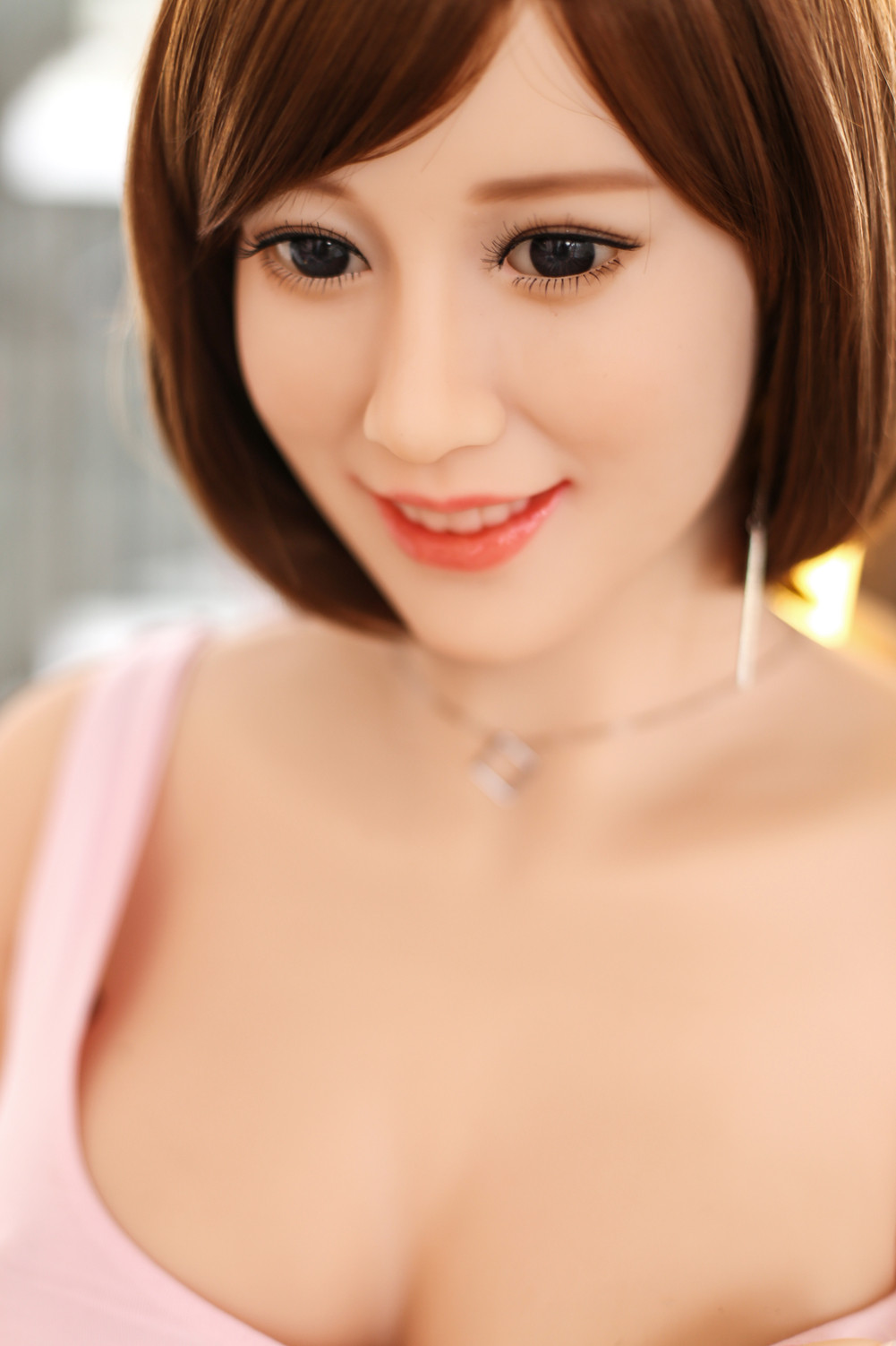 New style nice smile face 165cm realistic dolls adult with big ass breast