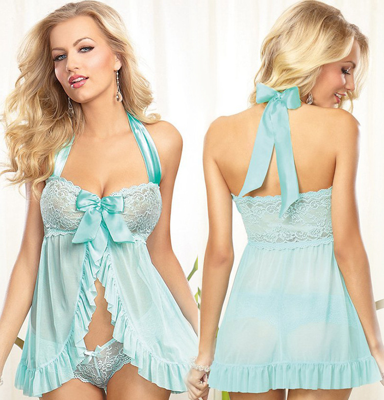 Romantic Lace Babydoll Set