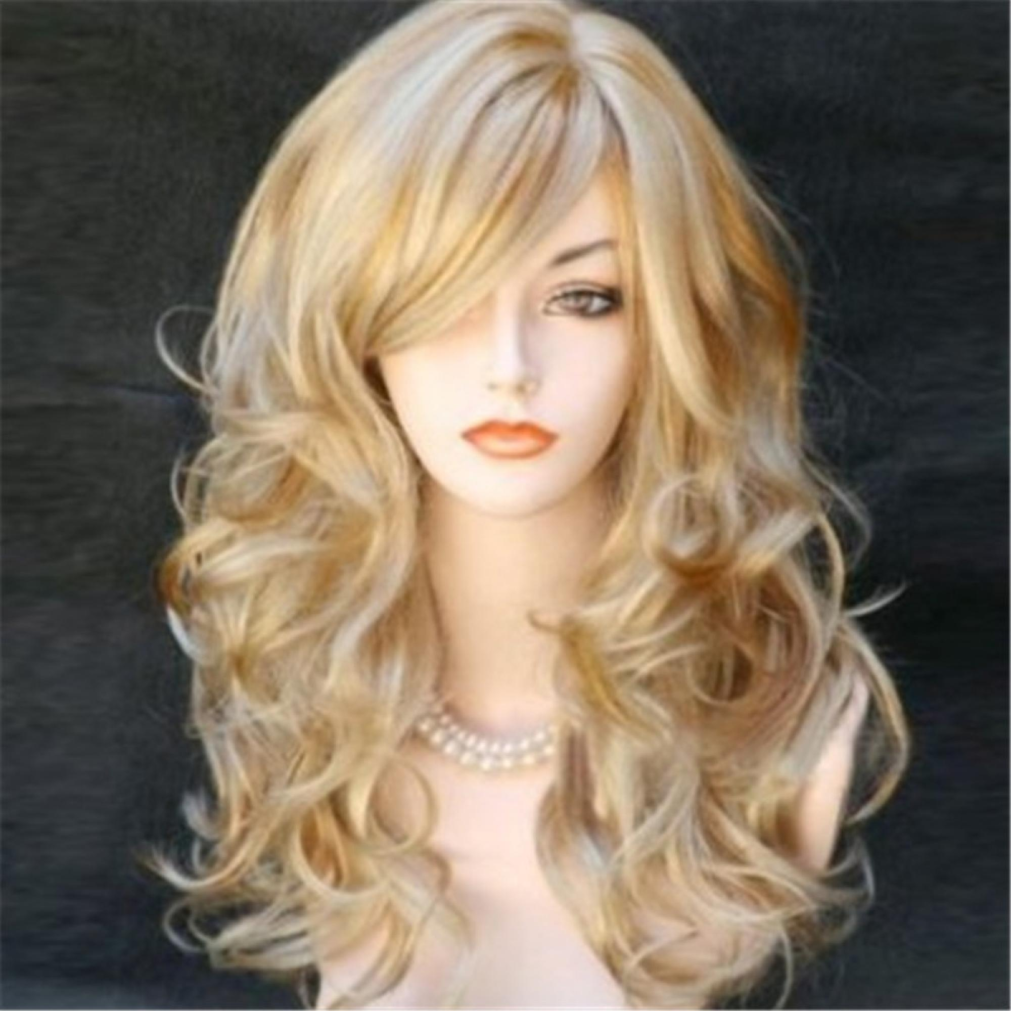 Fashion Sexy women wigs ombre natural hair resistant synthetic wigs high qualit